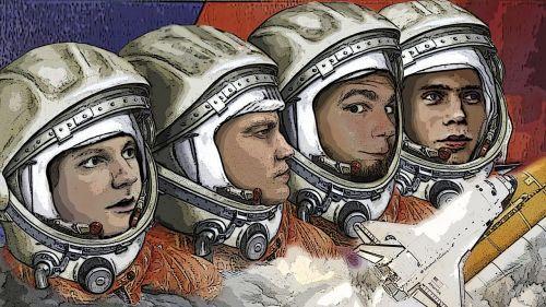 cosmonauts are starting vlad filat
