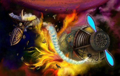 cosmos flight fantasy