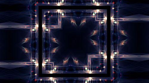 cosmos kaleidoscope art pattern