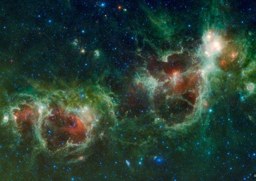 cosmos heart and soul nebula two galaxies