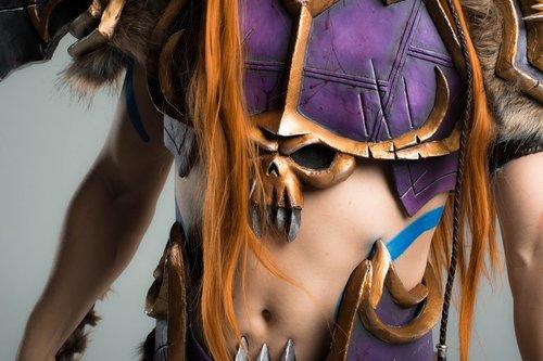 cosplay  warcraft  armor