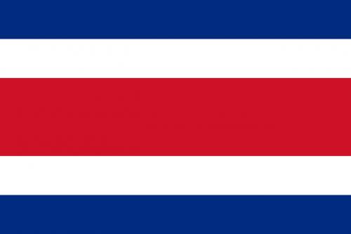 costa rica flag national flag