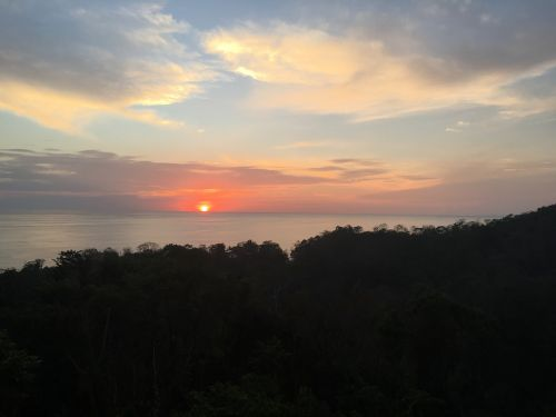 costa rica sunset pa