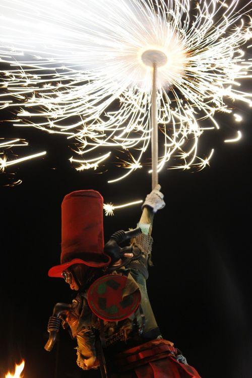 costume madness fire