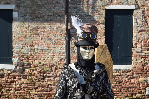 costume  carnival  venice