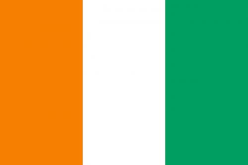 cote d'ivoire flag national flag