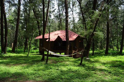 cottage holday home hut