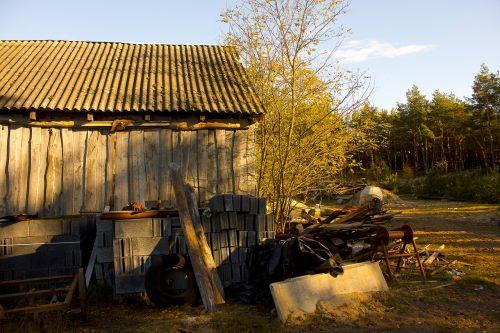 cottage forest wooden cottage