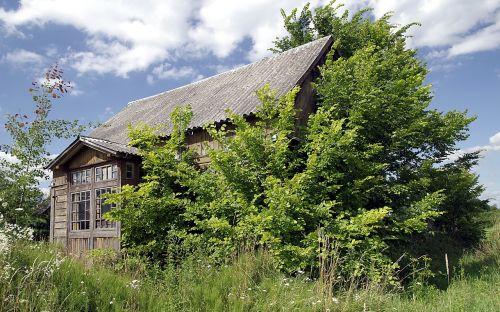 cottage old wooden