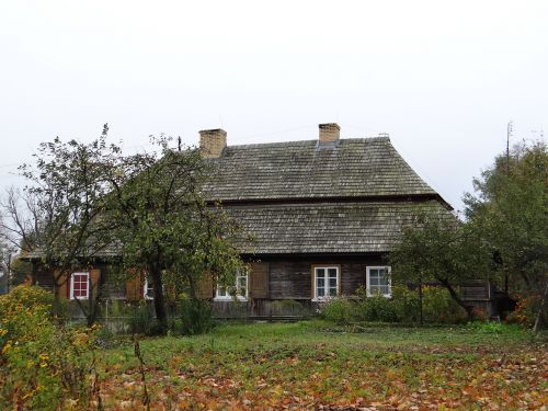 namelis,Miestas,sodininkas,pasienio kultūros,medinis namas,senas kotedžas,medinis namas,paminklas,architektūra,medinis,medis,medinė architektūra,gintas,Lenkija