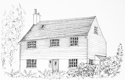 cottage england traditional