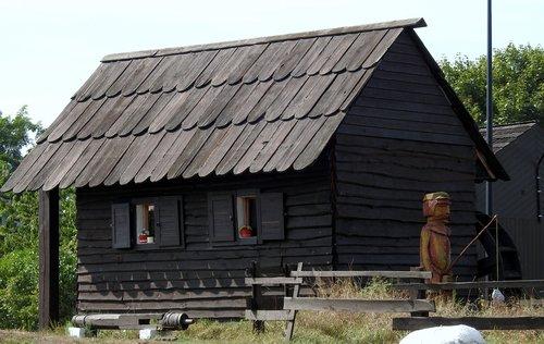 cottage  hut  landscape