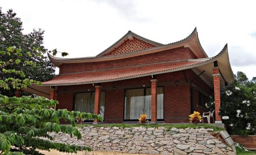 cottage pagoda-style pyramid valley