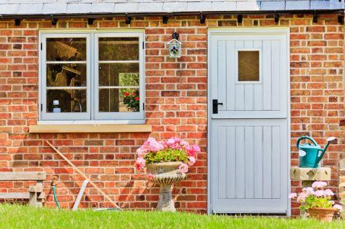 Cottage Door And Window