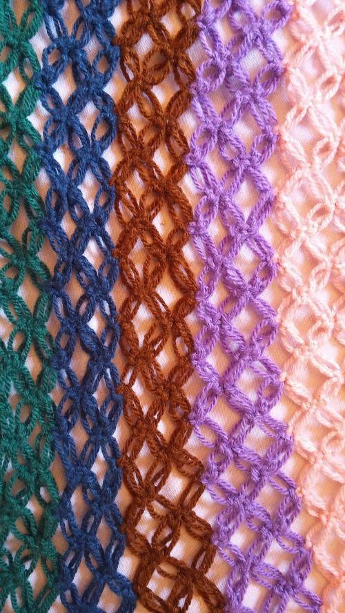 cotton colorful tissue