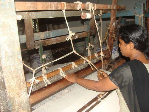 cotton spinning khadi