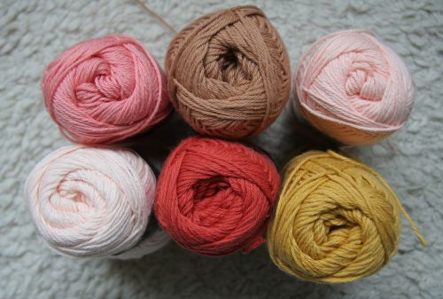 cotton yarn handicraft material