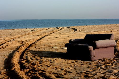 couch beach sofa