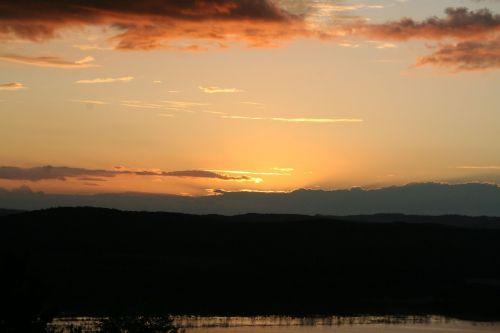 coucher soleil guatemala