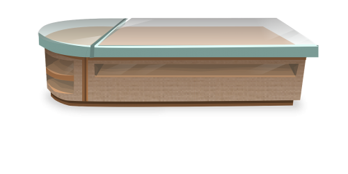 counter surface furniture
