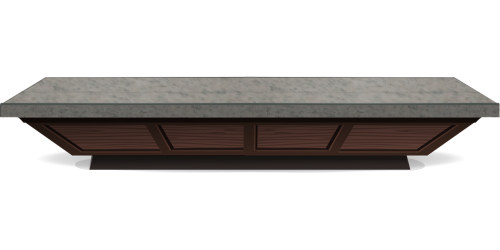 counter counter top wood