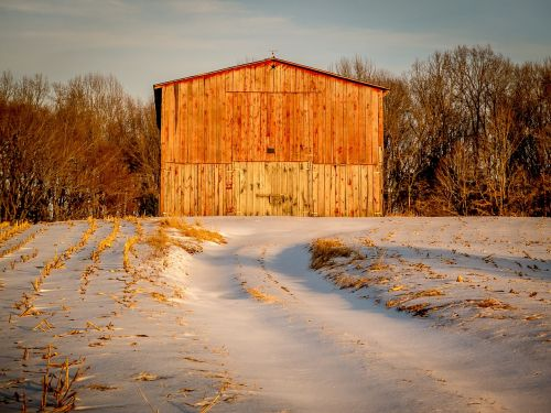 country rural barn
