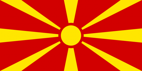 country flag macedonia
