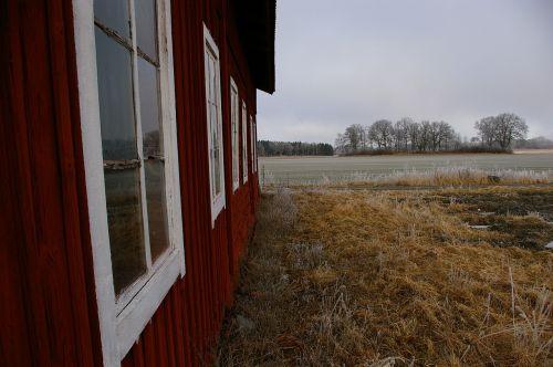country barn house