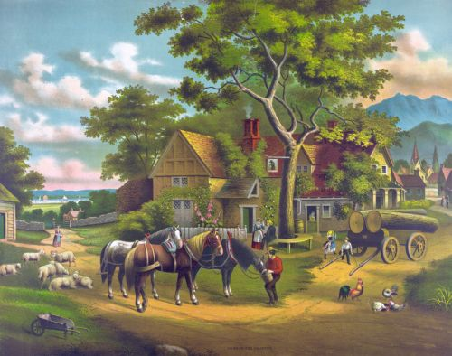 Country Home Painting