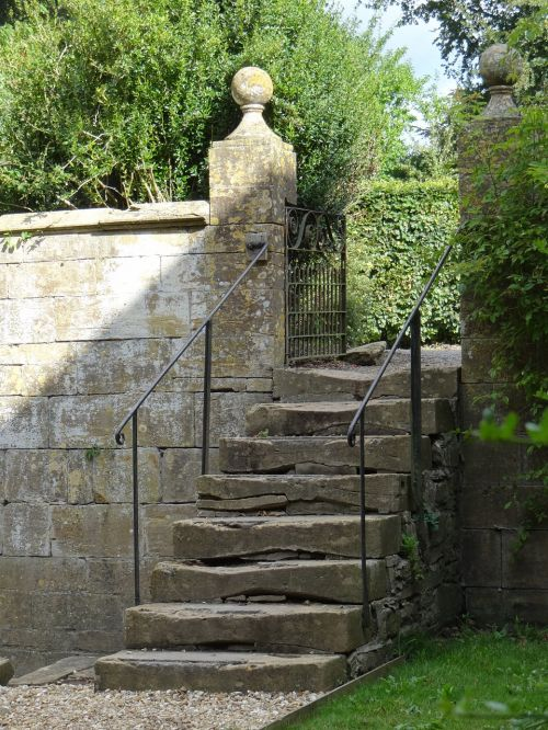 country house balustrade handrail