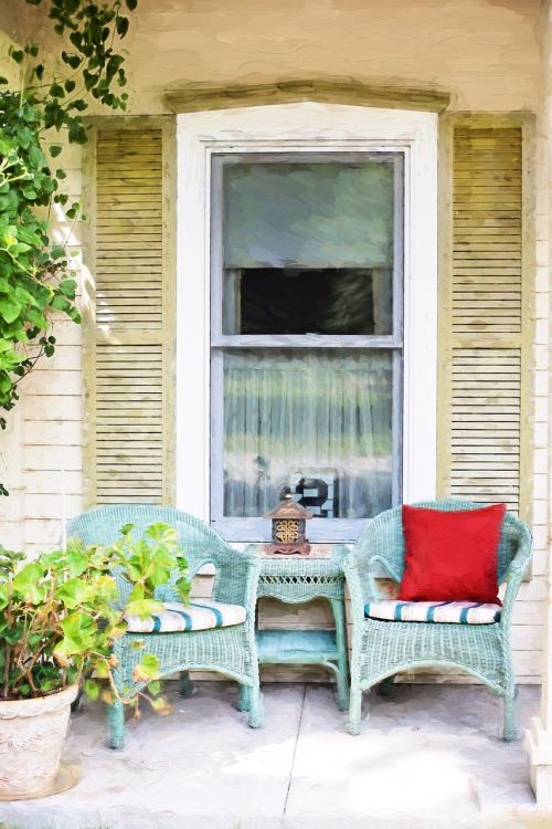 country porch porch chairs patio