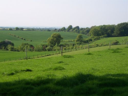 countryside north downs kent
