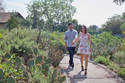 couple love garden