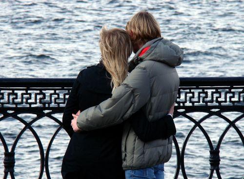 couple love tenderness