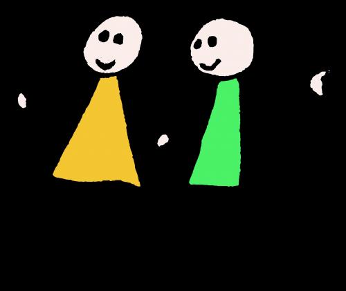 couple characters fun