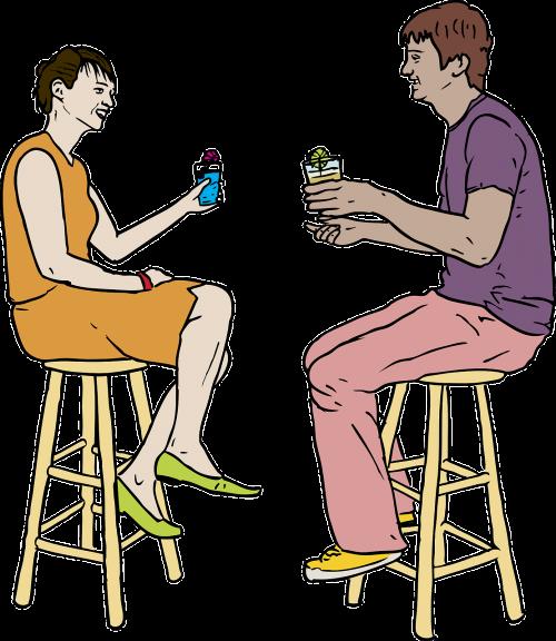 pora,baras,kava,gerti,gėrimai,kavinė,sėdi,gerti,nemokama vektorinė grafika