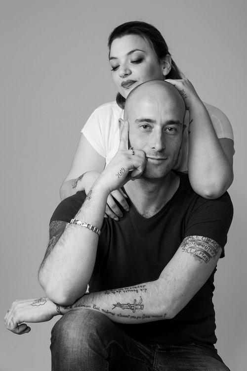 couple  young  portrait