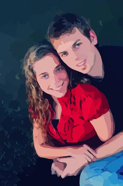 pora,portretas,meilė,kartu,nuotrauka,įsitraukimas,Vedęs,užsiima,žmonės,suaugusieji,jaunas,šypsosi,laimingas,romantika,mėgėjai,santykiai,patrauklus,apimantis,santuoka,vaikinas,mergina,kelia,nemokama vektorinė grafika