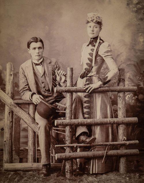 couple vintage man