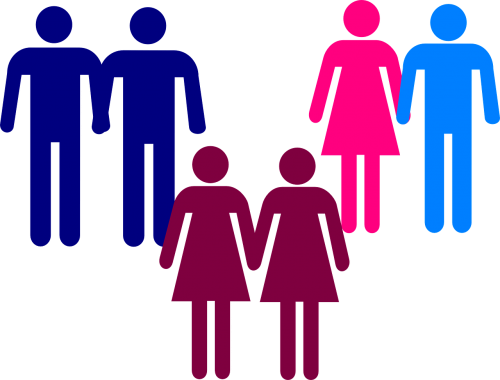 couples pictogram gay