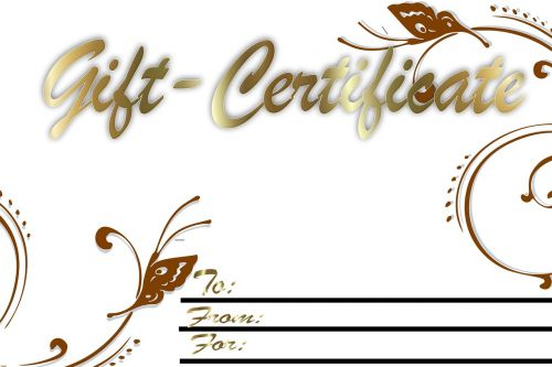 coupon gift gift voucher