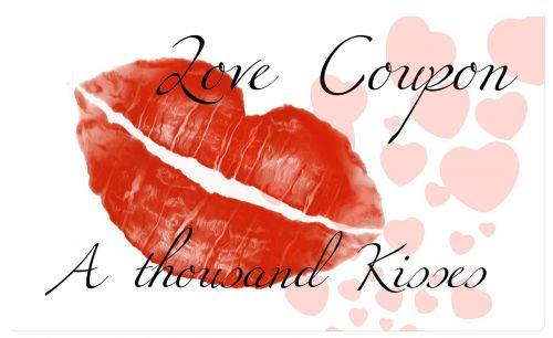 coupon lips kiss