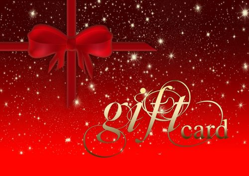 coupon gift card red