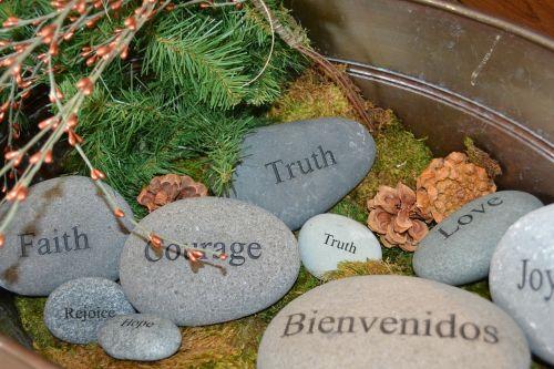 courage truth faith