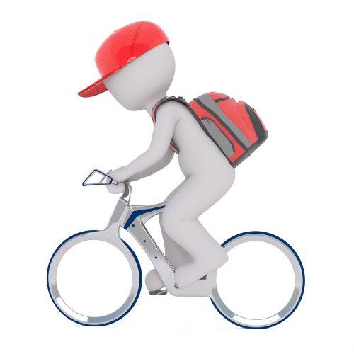 courier backpack bike