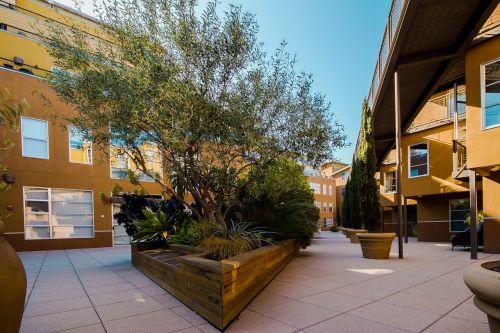court yard condominiums apartments