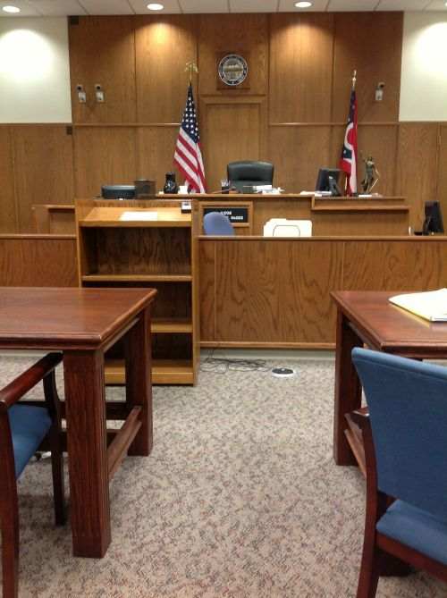 courtroom court courthouse