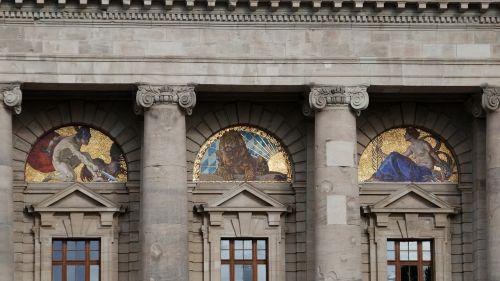 courtyard garden state chancellery architecture
