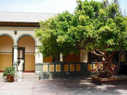 Courtyard Of Woermann House