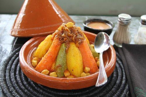 couscous  vegetable  meat